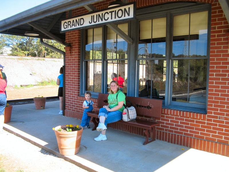 Grand Junction Rail Road Station Chattanooga